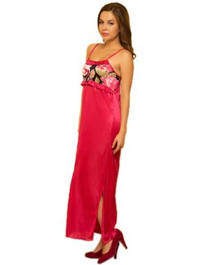 Buy Satin Rich Nightwear & Robe online