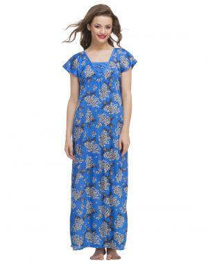 Buy Clovia Printed Nighty (code- Nss004c08o) online