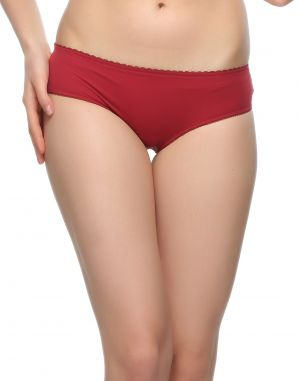 Buy Clovia Sexy Lacy Maroon Panty Pn0362a09 online