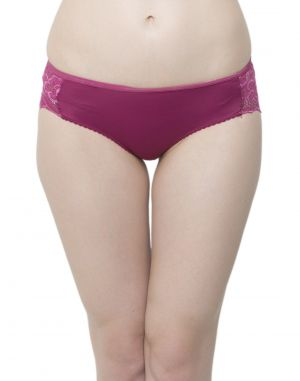 Buy Clovia Lacy Polyamide Bikini With Sexy Back Pn0366p15 online