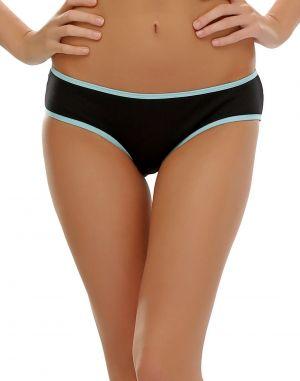 Buy Clovia Funky Message Bikini In Black Pn0384p13 online