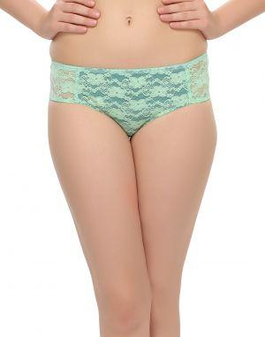 Buy Clovia Lace Bikini In Leaf Green Pn0385p11 online