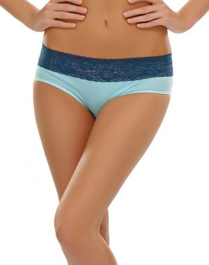 Buy Clovia   Angel Blue Bikini With Lace Trims online
