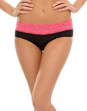 Buy Clovia Sexy Black Bikini With Lace Trims online