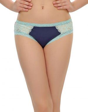 Buy Clovia Blue Bikini With Sexy Laces Pn0391p08 online
