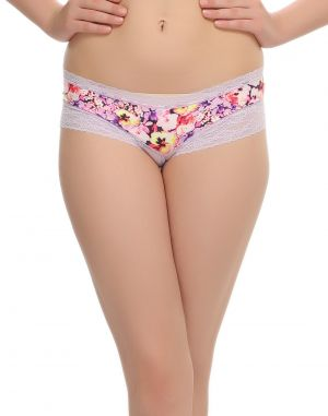 Buy Clovia Funky Printed Hipster With Pretty Laces online