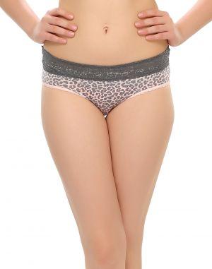 Buy Clovia Lacy Bikini With Chic Prints Pn0396p05 online