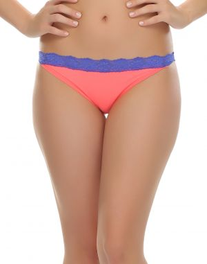 Buy Clovia Polyamide, Lace Trendy Bikini With Lace online