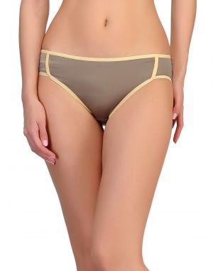 Buy Clovia Polyamide Bikini In Grey Pn0448p01 online
