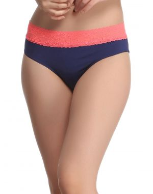 Buy Clovia Cotton Comfy Panty In Navy Pn0483p08 online