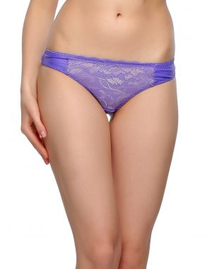 Buy Clovia Sexy Lacy Thong In Purple Pn0484p12 online