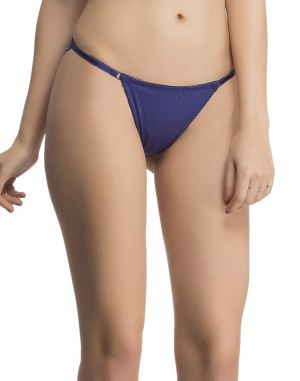Buy Clovia Sexy Lacy Brief In Royal Blue Pn0497p08 online