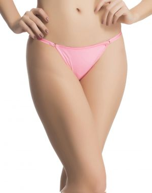 Buy Clovia Sexy Lacy Brief In Pink online