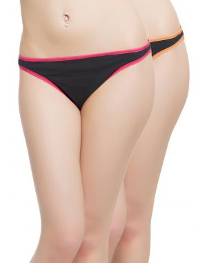 Buy Clovia Pack Of 2 Panty In Multi Color-(product Code-pnc001c12) online
