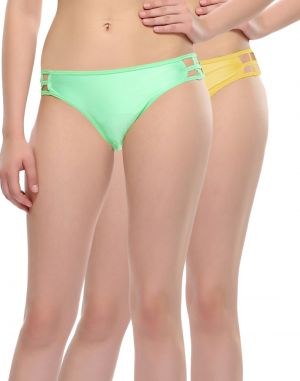 Buy Clovia Pack Of 2 Panty In Multi Color-(product Code-pnc001c28) online