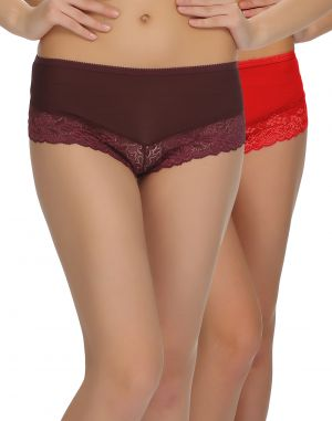 Buy Clovia Pack Of 2 Panty In Multi Color-(product Code-pnc001c39) online