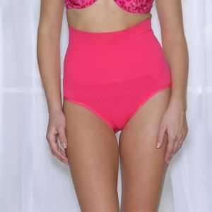 Buy Cloe High Waist Tummy Control Panty In Pink Sw0001f22 online