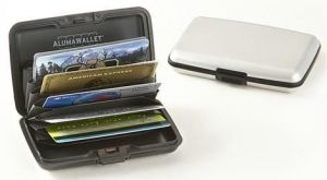 Buy 2 Data Secure Aluminum Indestructible Wallet Aluma online