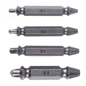 Buy 4pcs Speed Out Screw Bit Extractor & Bolt Extractor Remover Set Tool Useful Power Tools online
