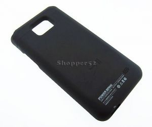 Buy 2000mah Slim External Battery Charger Case Cover Samsung I9100 Galaxy S2 Black online