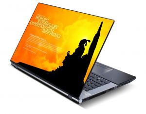 Buy Maharaja Shivaji Laptop Notebook Skins High Quality Vinyl Skin - Lp0520 online