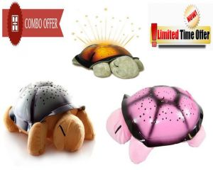 Buy Special Combo Offer! 3 Turtle Sky Star Projector Night Lamp - 3cmtnsc online