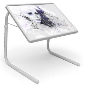 Buy Comic & Cartoons Table Designer Portable Adjustable Dinner Cum Laptop Tray Table 541 online