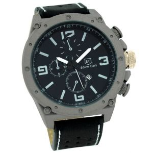 Buy Edwin Clark Analog Chronograph  Watch For Men With Date Display online