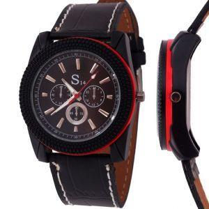 Buy Menstyles Leather Belt Wrist Watch online