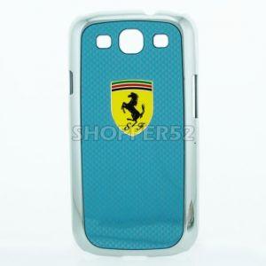 Buy Designer Plastic Back Hard Case For Samsung Galaxy S3 I9003 Grey online