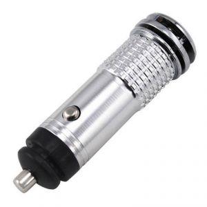 Buy Gadget Hero's Mini Car Auto Ionizer Fresh Air Purifier Oxygen Ozone Bar Cleaner Deodorant ( Silver ) online