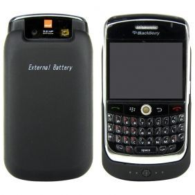 Buy External Portable Backup Battery Charger Case Cover For Blackberry 8900 Bb8900 online