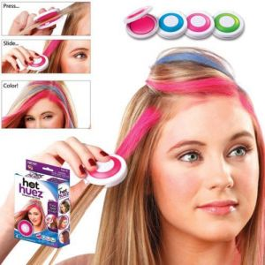 Buy Hot Huez 4 Color Hair Chalk Powder Diy Temporary Wash Out online