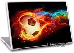 Buy Fire Football Laptop Notebook Skins High Quality Vinyl Skin - Lp342 online