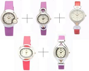 Buy Diwali Special Combo Offer!!! For Five Lr Analog Watch For Women - Lwcm010 online