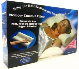 Buy Original Memory Foam Cloud Pillow Pain Relief online