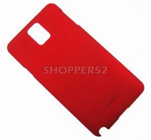 Buy Red Samsung Galaxy Note 3 N9000 Moshi Matte Plastic Hard Back Case online