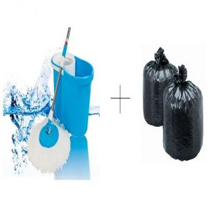 Buy Buy Easy Magic Mop With Free Disposables Garbage Bag 60 PCs - Mopgrb60 online