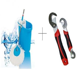 Buy Buy Easy Magic Mop With Free Snap N Grip Wrench Set - Mopsnp online