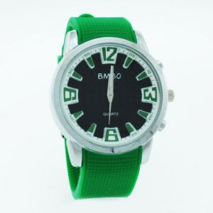 Buy Green Designer Mens Boys Fiber Wrist Watch online