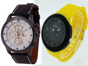 Buy Buy 1 Get 1 Free - Designer Mens Stylish Wrist Watch Mw006 online