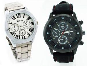 Buy Buy 1 Get 1 Free - Designer Mens Stylish Wrist Watch Mw017 online