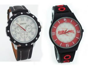 Buy Buy 1 Get 1 Designer Menstylish Wrist Watch online