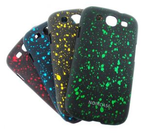 Buy Designer Plastic Flora Scent Back Hard Case For Samsung Galaxy S3 I9003 Blue online