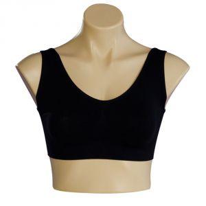 Buy Seamless Air Bra Total Comfort - Black online