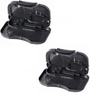Buy Foldable Car Dining Meal Drink Tray Set Of 2 online