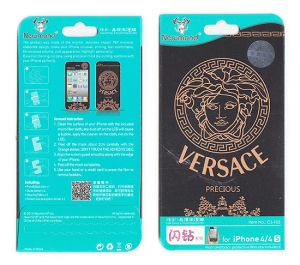 Buy Designer Front And Back Screen Protector Skin For Apple iPhone 4 4s Scr4023 online