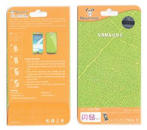 Buy Designer Front And Back Screen Protector For Samsung Galaxy Note 2 N700 08 online