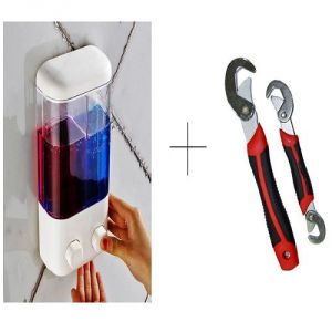 Buy Buy Double Soap Dispenser With Free Snap N Grip Wrench Set online
