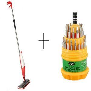 Buy Buy Spray Mop With Free Jackly 31 In 1 Screwdriver Set Toolkit - Smoptl online